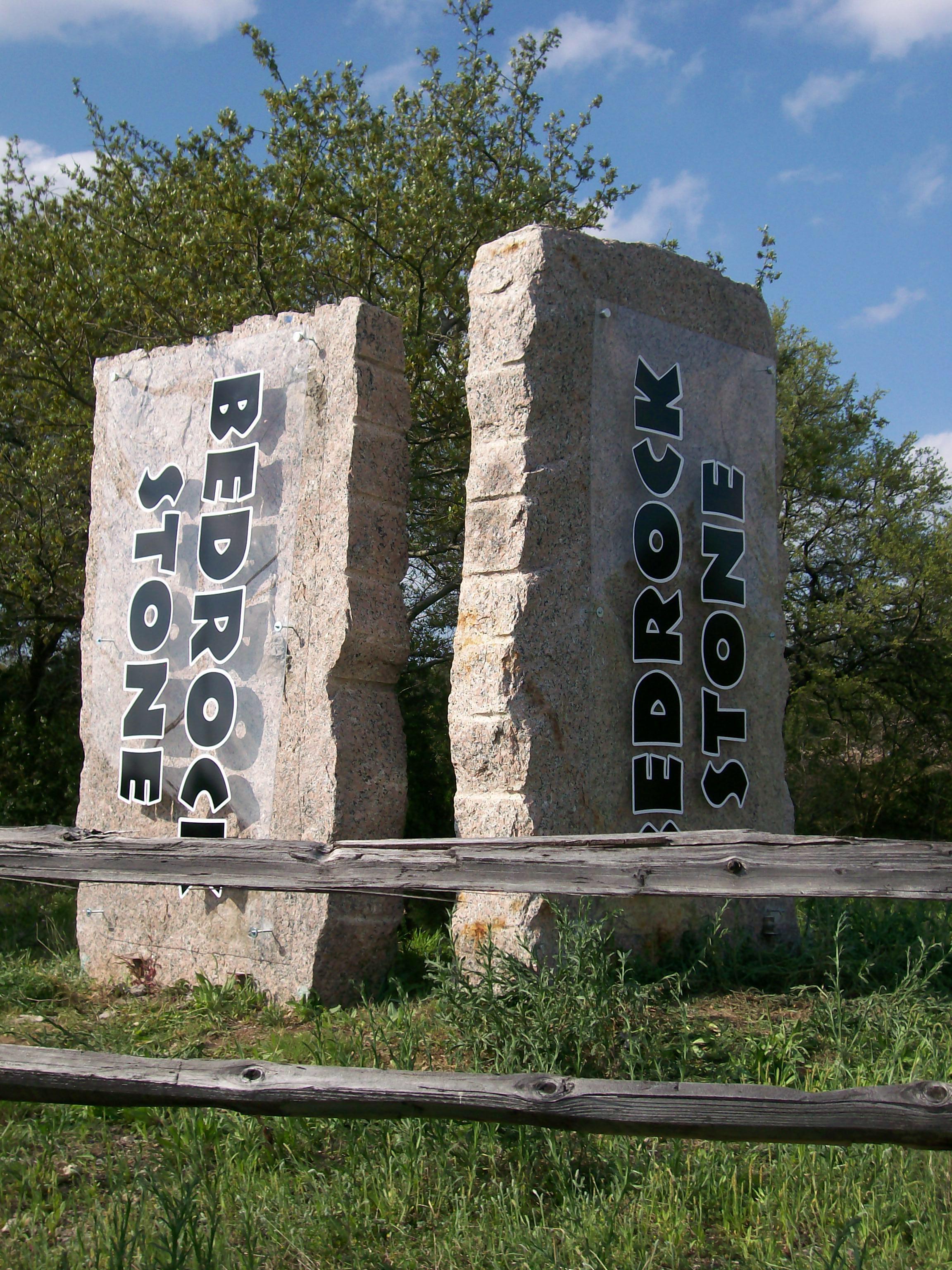 Bedrock Stone Acrylic Panels