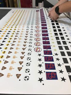 Die Cut Logo Decals