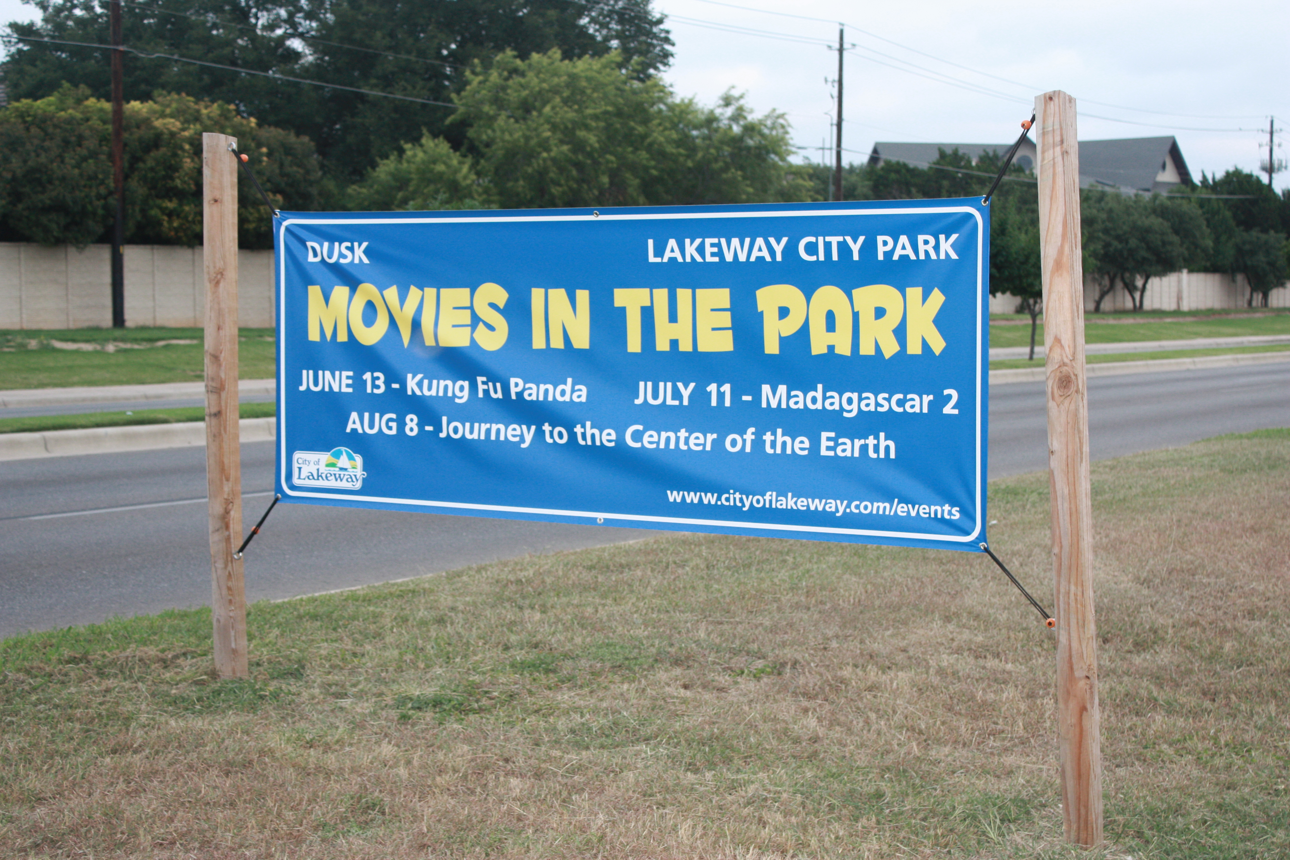 City of Lakeway Banner Movies