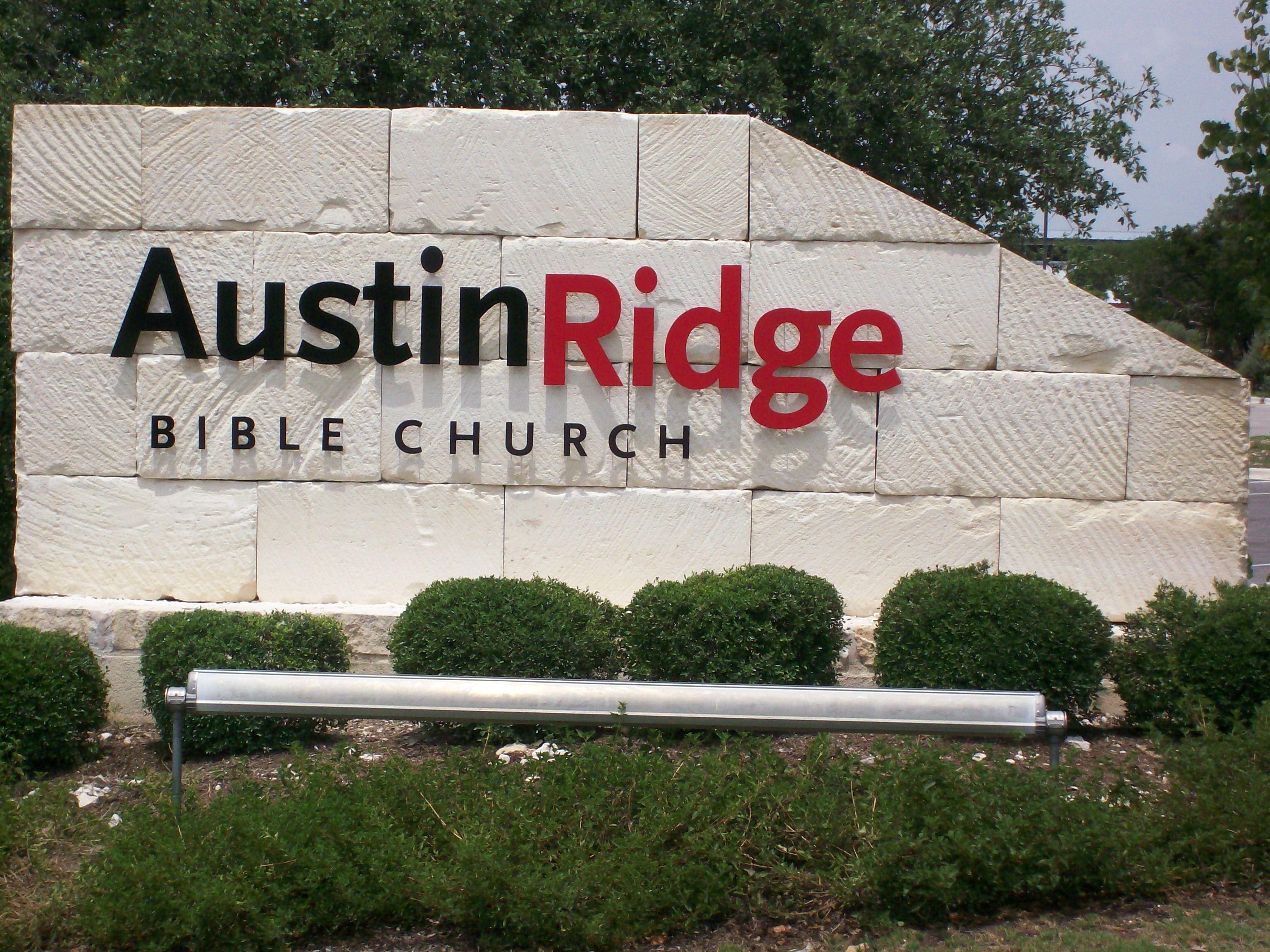 Austin Ridge Bible Church Letters