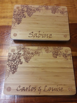 Wood Engraved Cutting Board