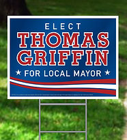Poltical Yard Sign