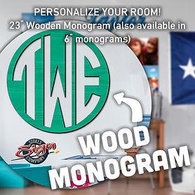 Order Wooden Monograms
