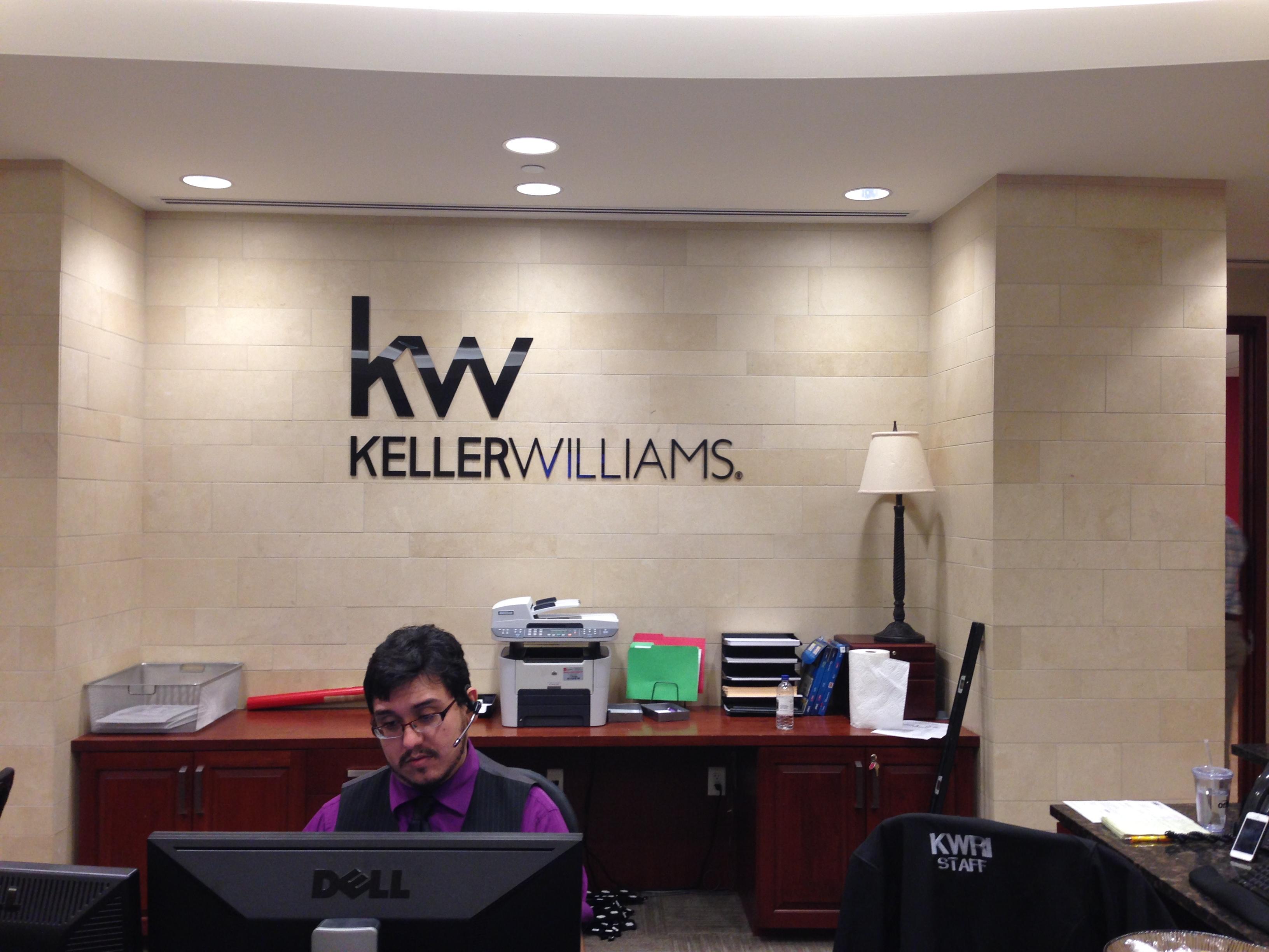 Keller Williams - Dimensional Interior Sign - lk34557(3).jpg