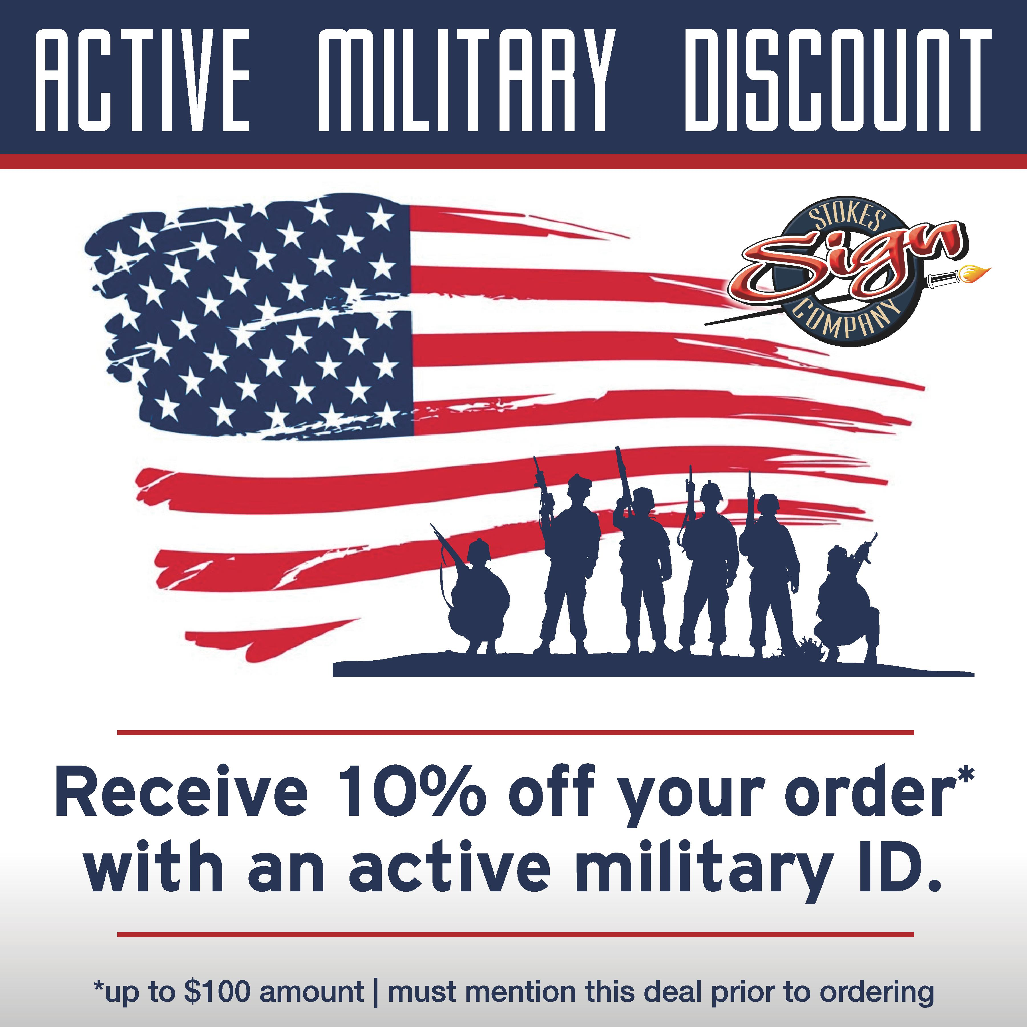 MILITARY_ID Discount
