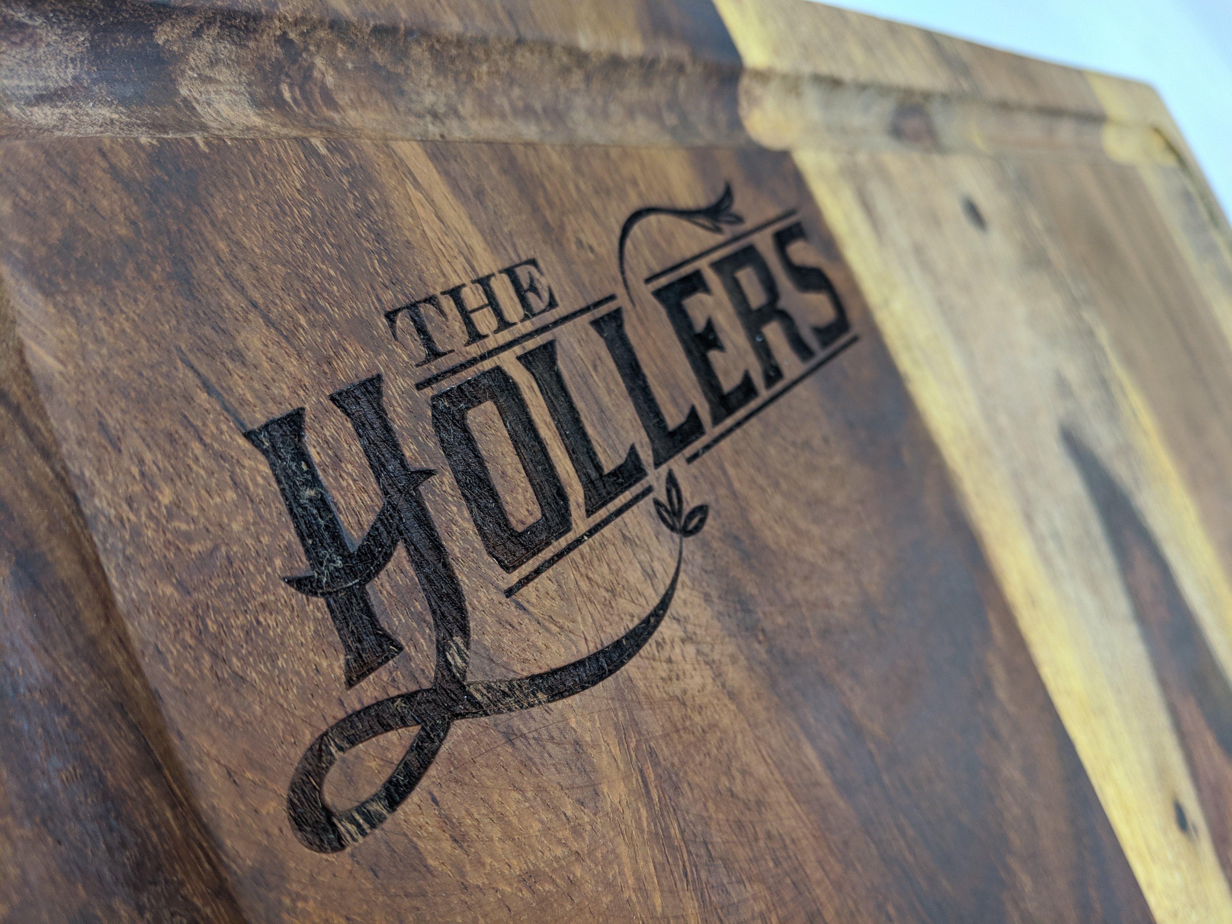 The Hollers - Engraved Cutting Board
