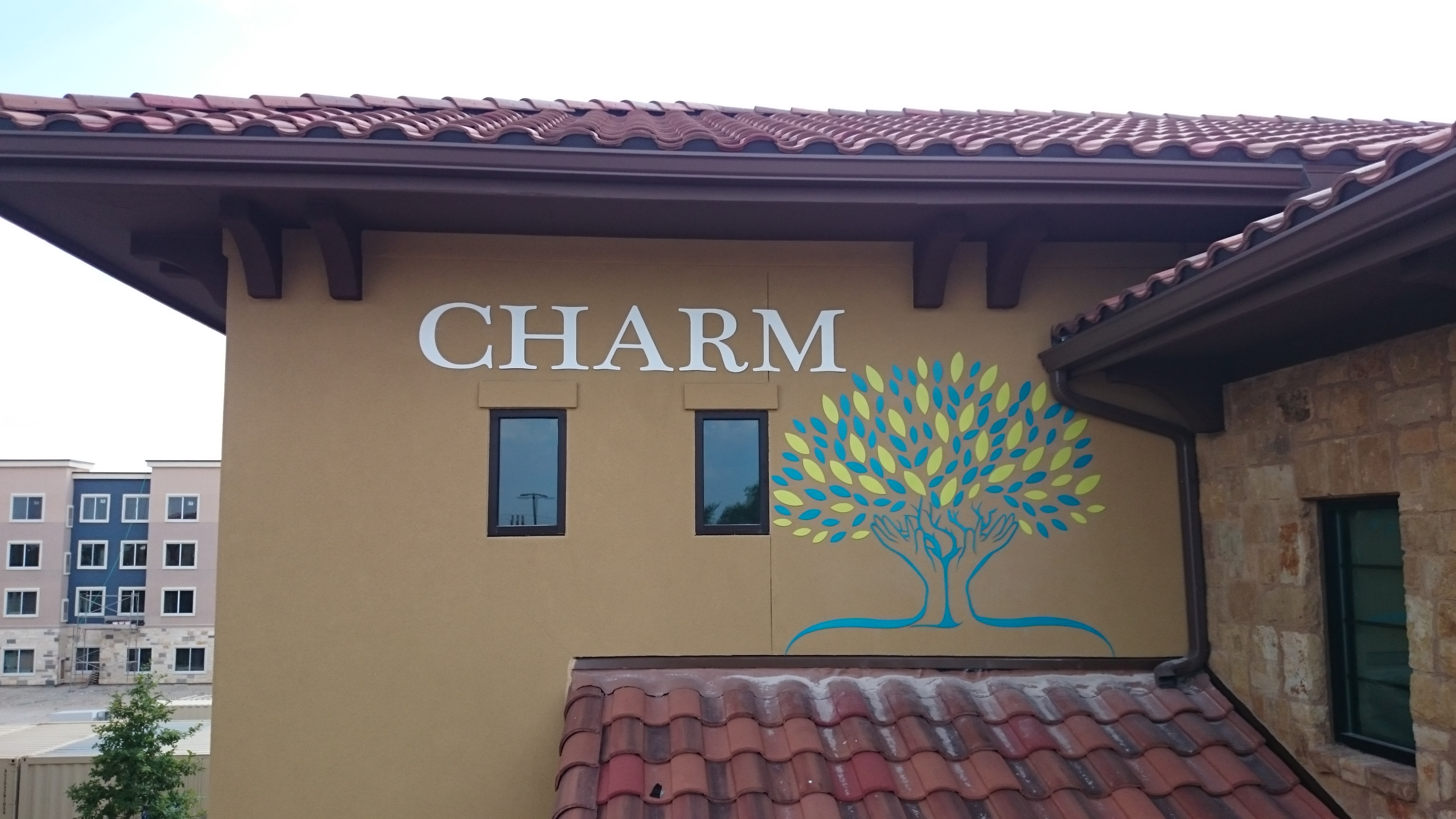 Painted Metal Lettering