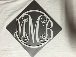 Engraved Monogram Sign