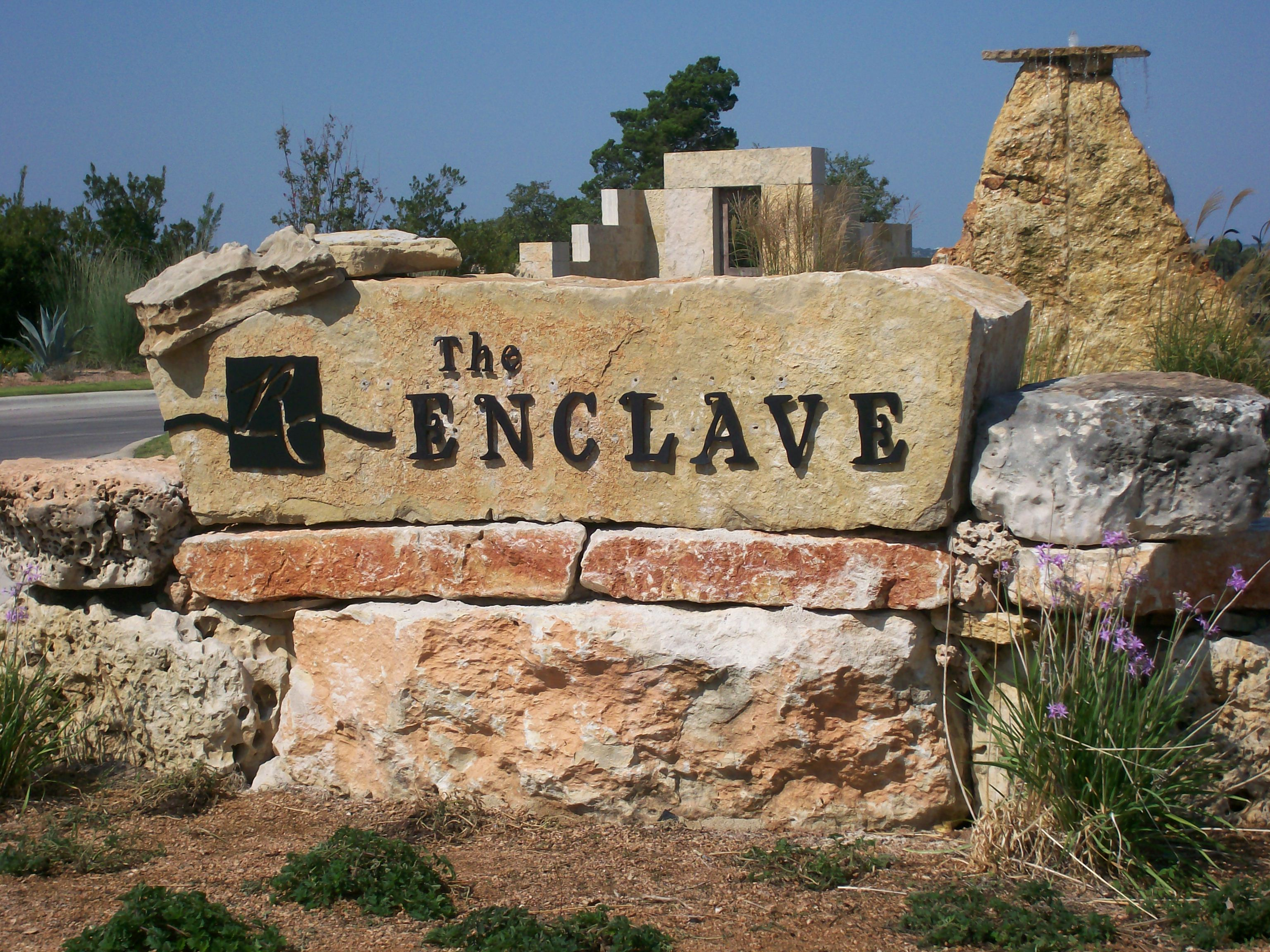 The Enclave Stone Monument