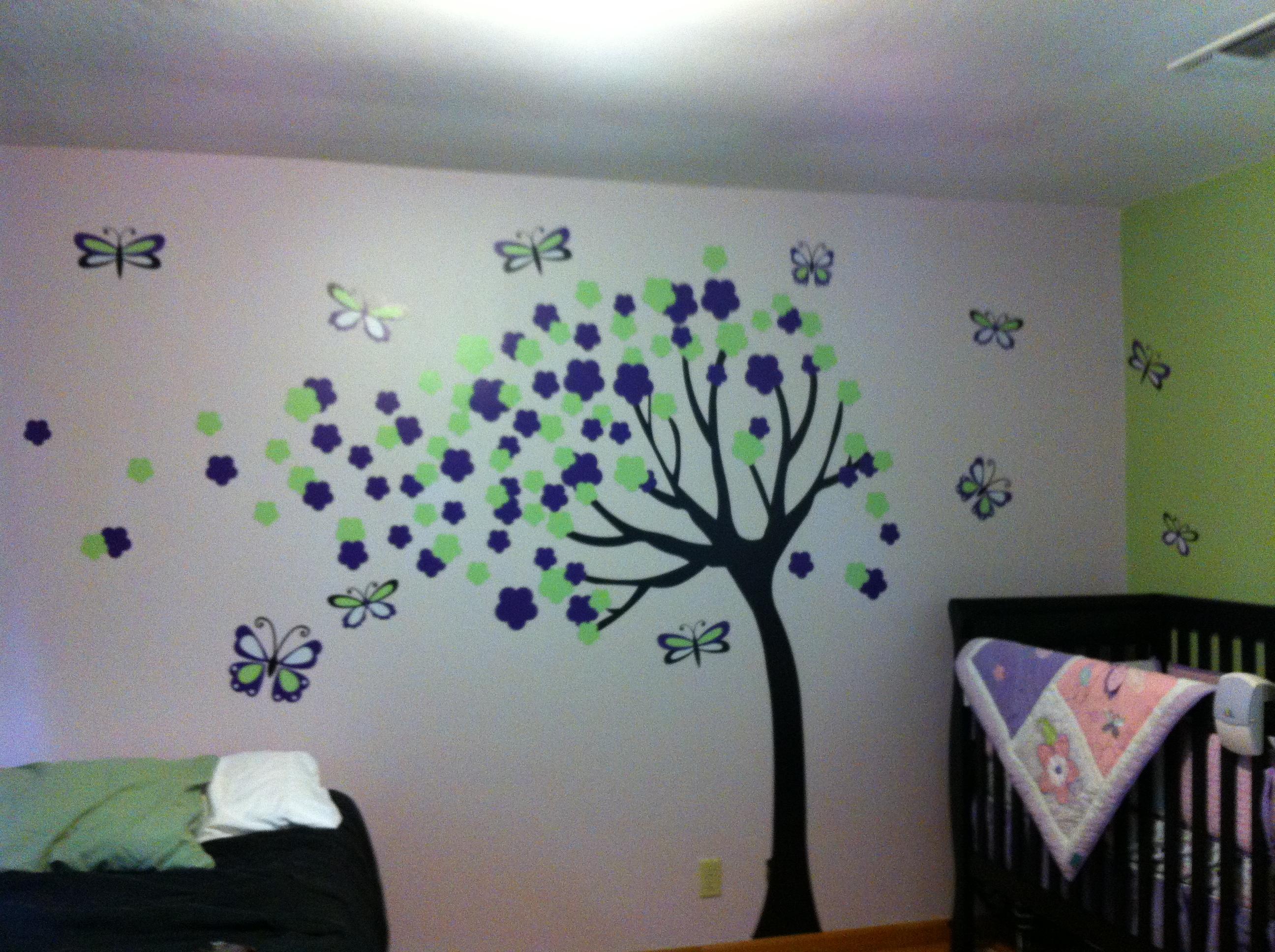 Nursery wall graphic
