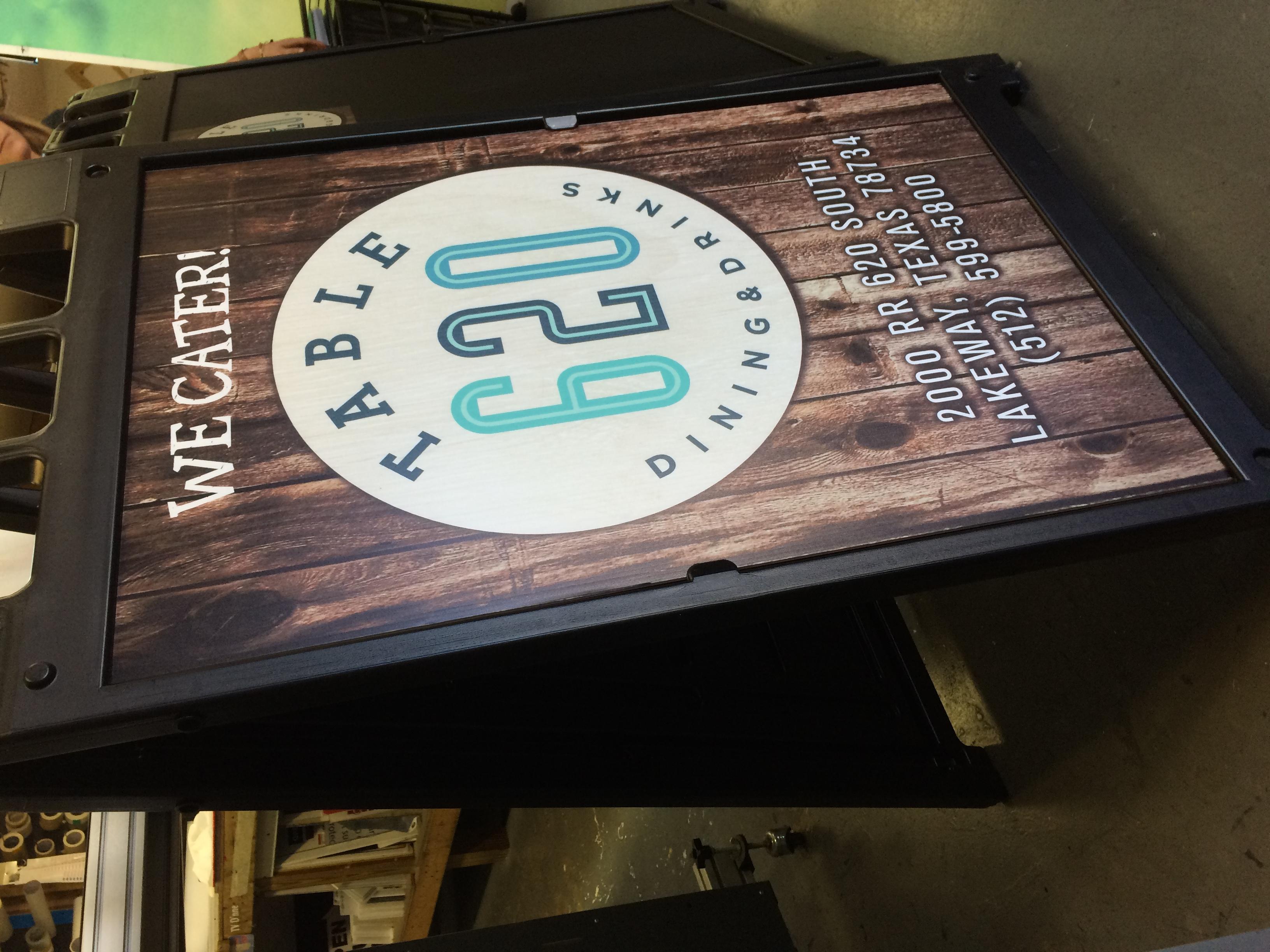 A Sign Frame. Signicade sign frame