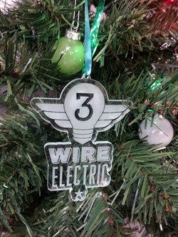 Custom Engraved Holiday Ornament