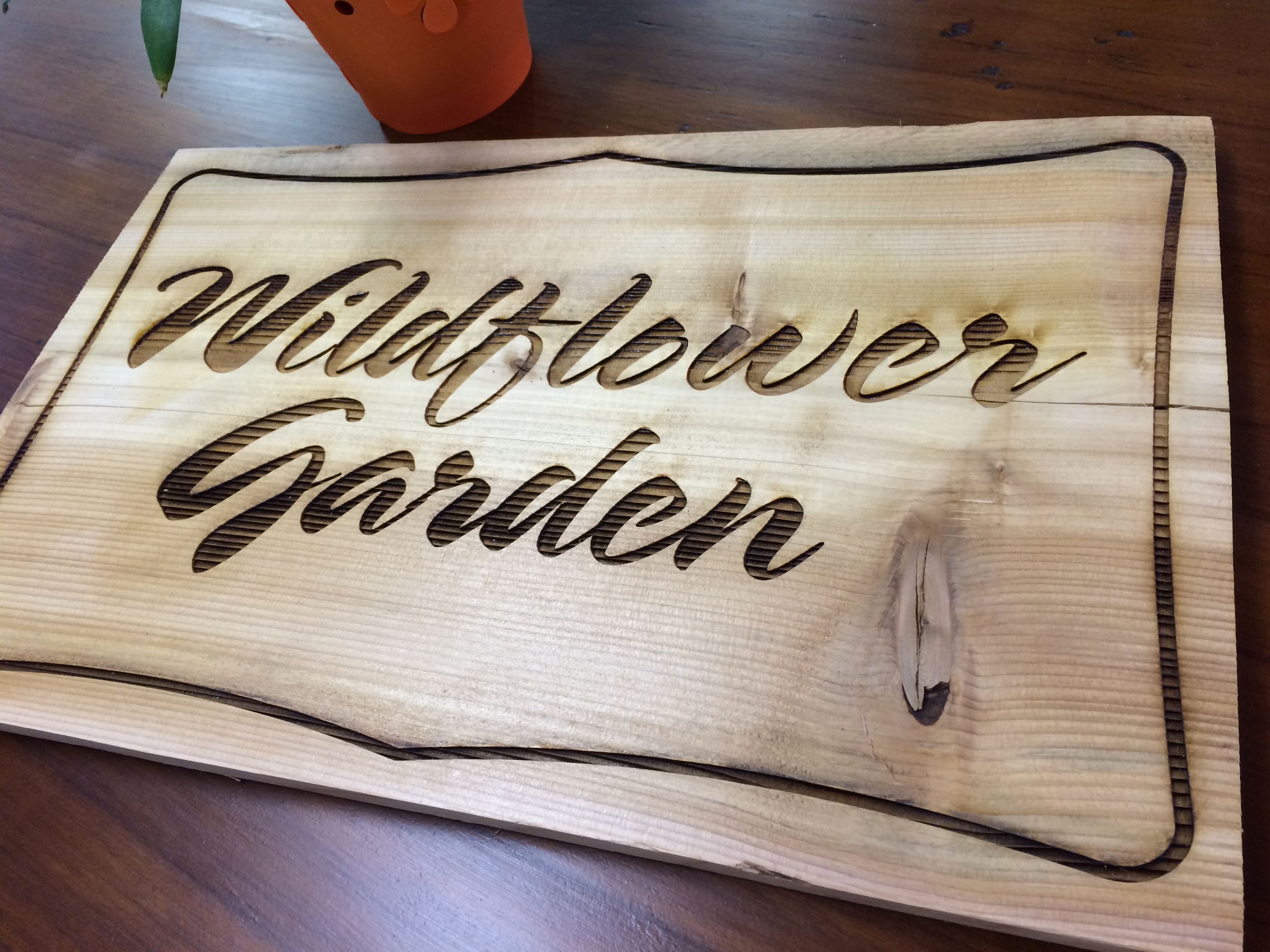 Engraved Wood Lakeway Austin