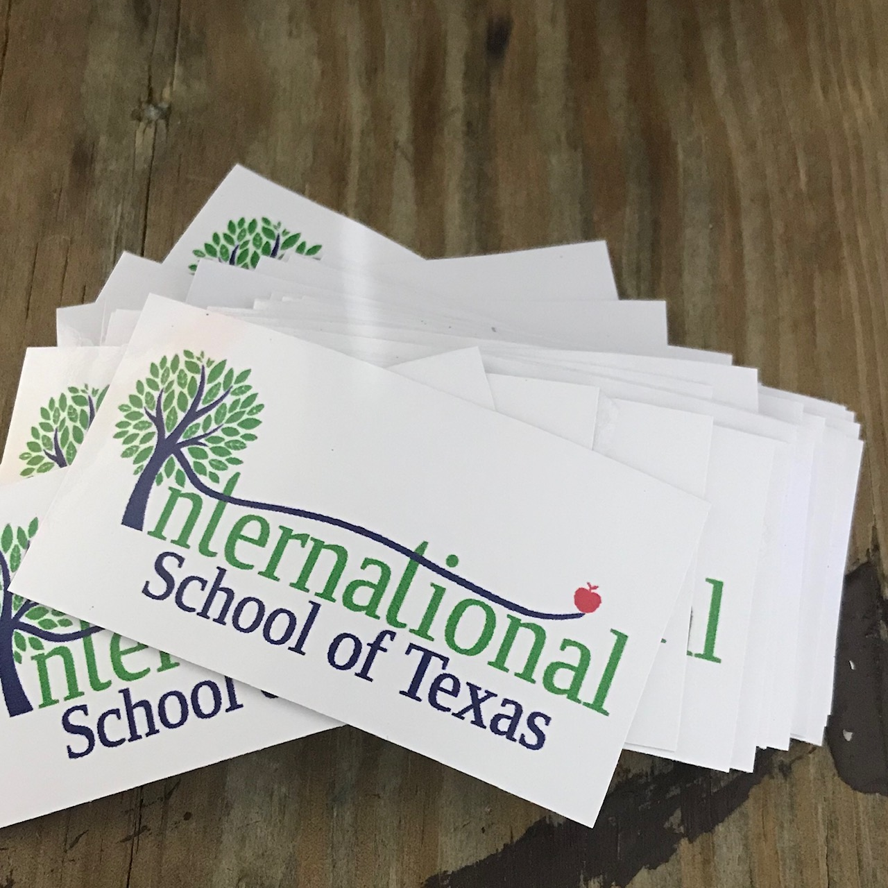 International School of Texas Decal