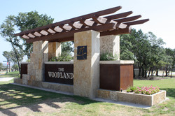 The Woodlands Letter Monument