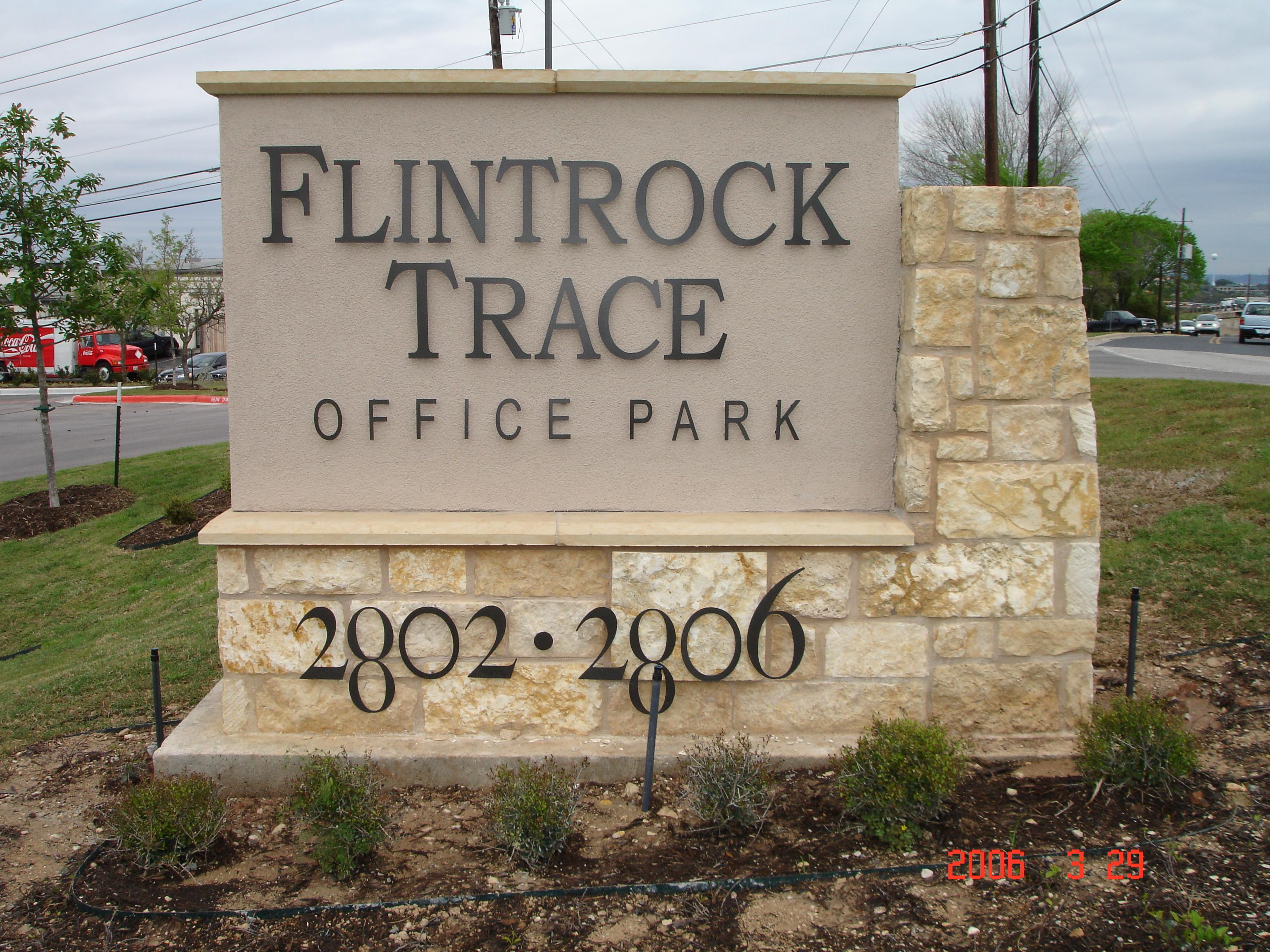 Flintrock Trace Letters