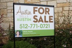 Molly Austin Yard Sign