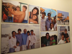 Foamboard Photo Wall