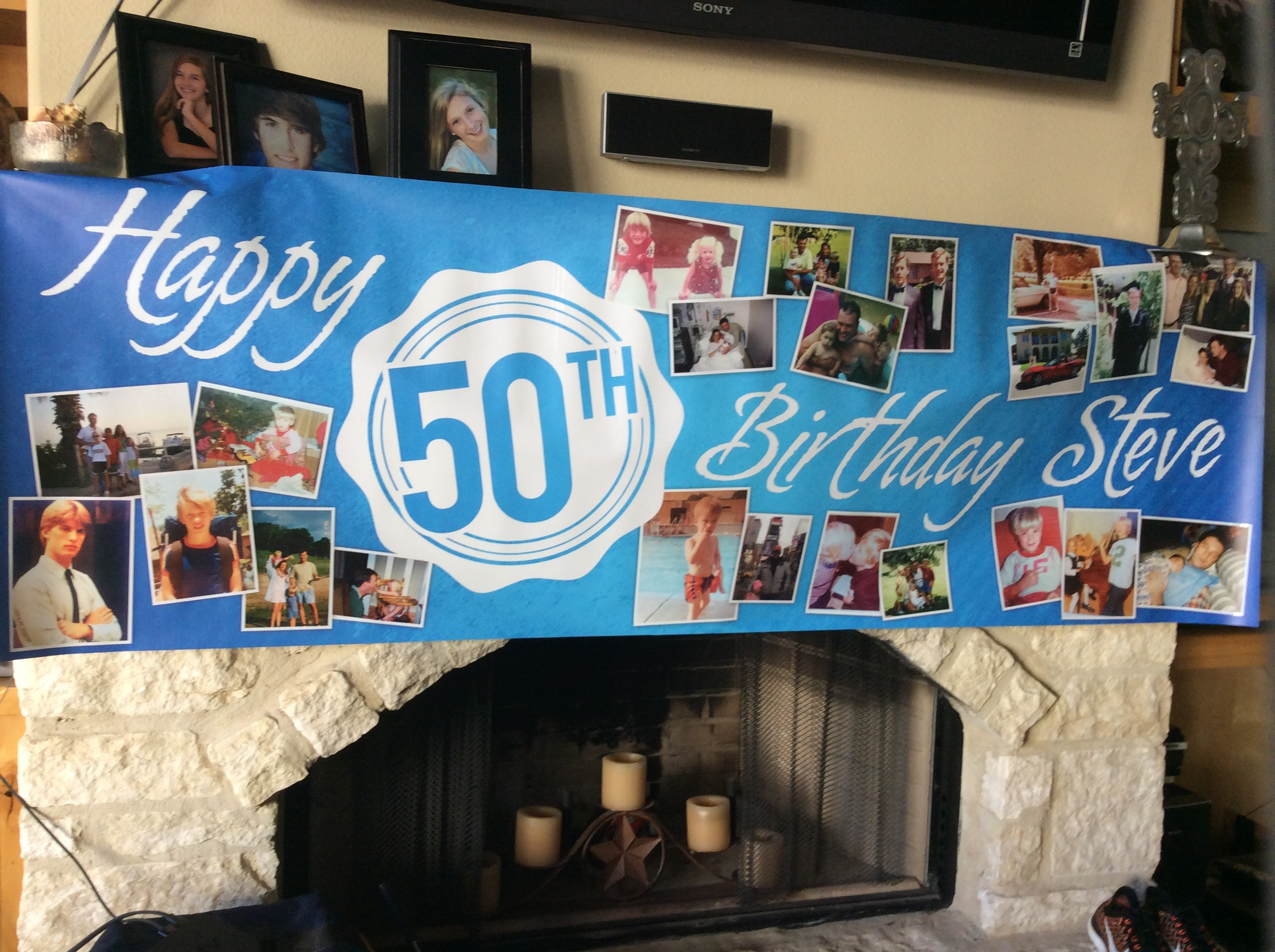 Happy Birthday Banners lakeway tx