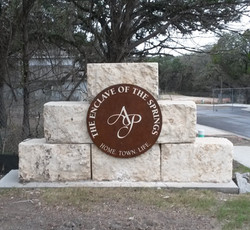 Rusted Monument Sign