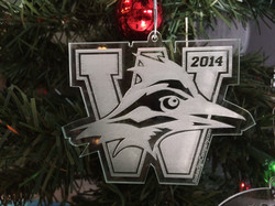 Westlake Engraved Ornament