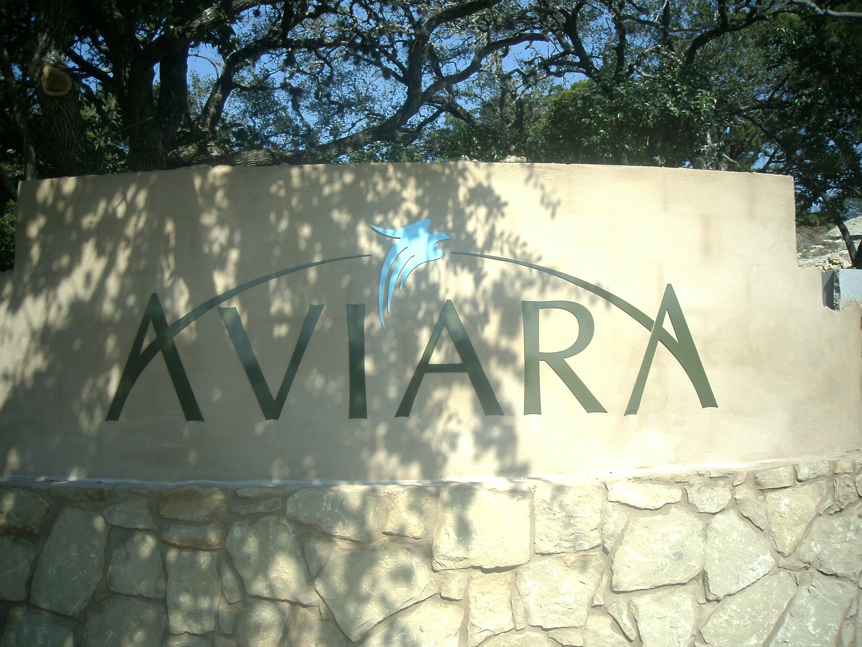 Aviara Lettering Monument