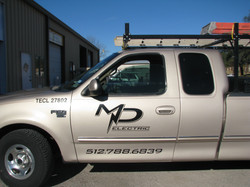 MD Electric Truck Graphics
