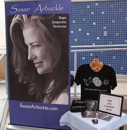 Susan Arbuckle Retractable Banner St