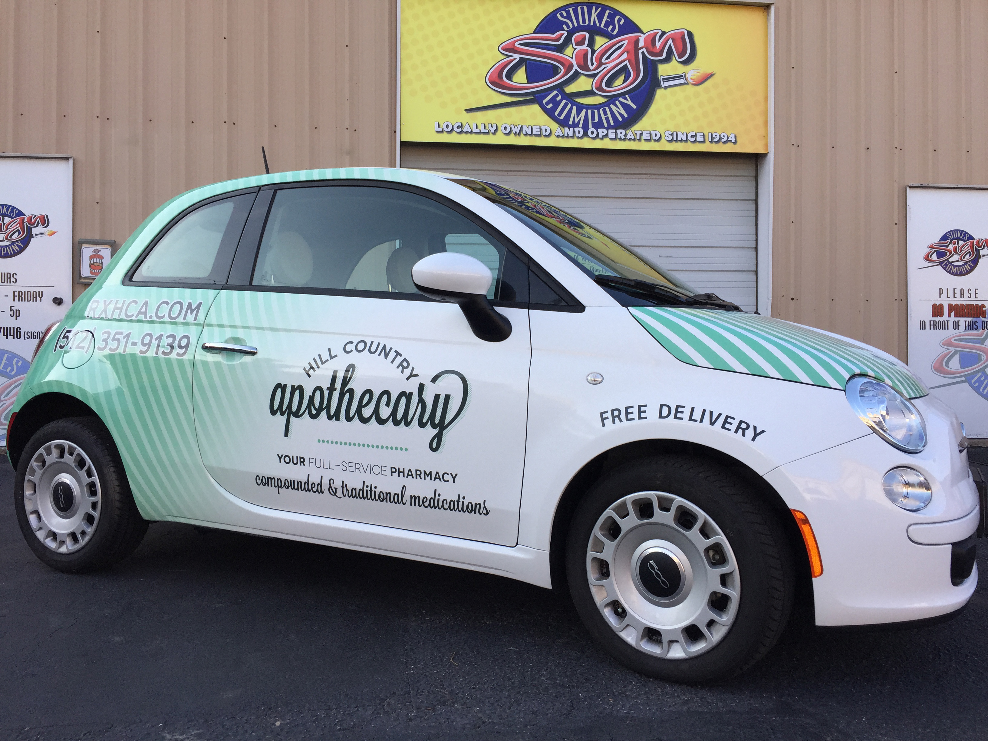 Hill Country Apothecary Fiat Wrap