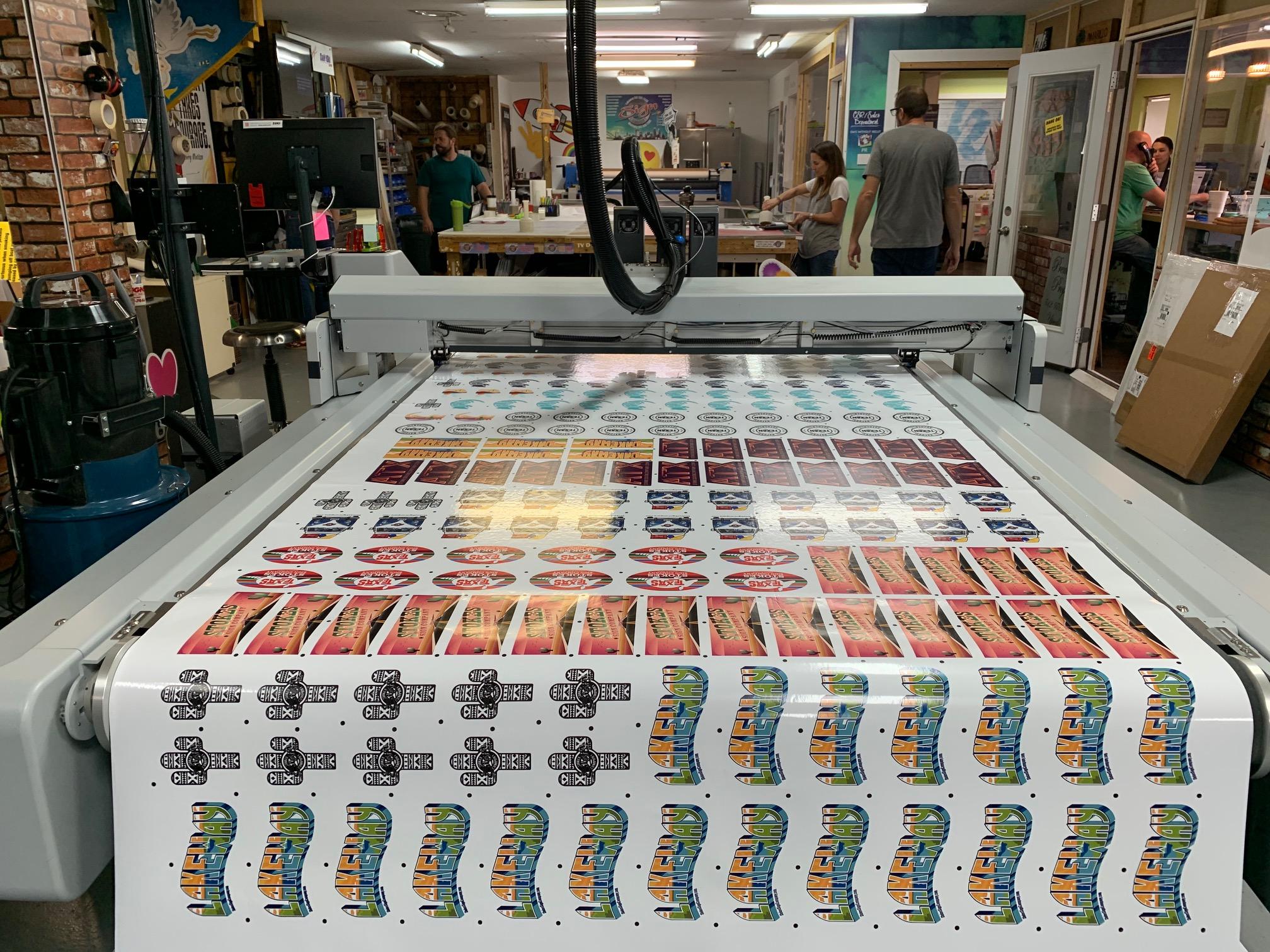 Sticker Mass Production