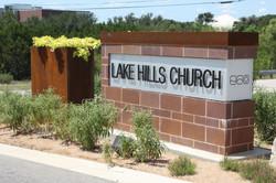 Lake Hills Entrance Monument