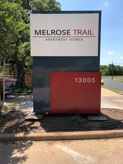 Apartment Monument Sign Austin TX