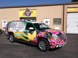 Mas Floral Full Wrap with Windows