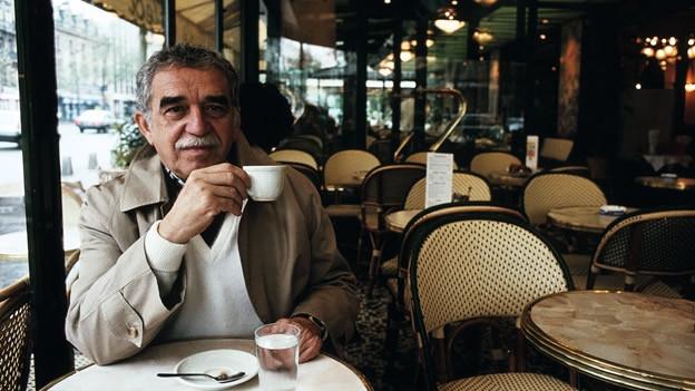 Gabriel Garcia Marquez hat auch viel Kaffee getrunken