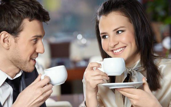 Kaffee trinken und zusammen geniessen