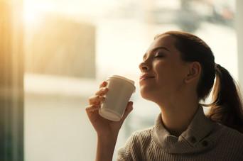 Kaffeetrinken hilft und entspannt