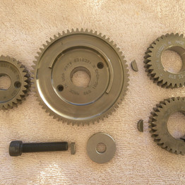 chain or gear driven cams