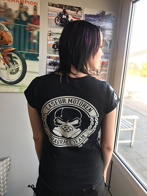 Dames T-Shirt Laseur Motoren Racing