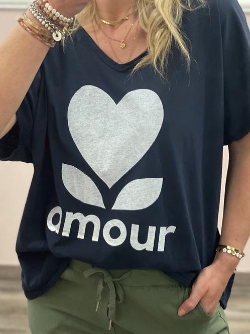 T-shirt 𝒂𝒎𝒐𝒖𝒓