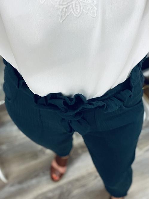 Pantalon (𝙶𝙰𝚉 𝚍𝚎 𝙲𝙾𝚃𝙾𝙽)🤍dernière pièce 🤍
