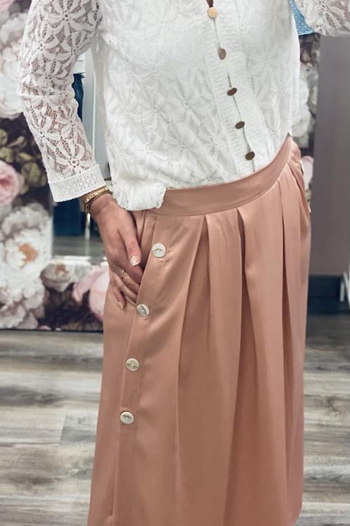 Longue jupe soie 𝙿𝙴́𝙿𝙸𝚃𝙰