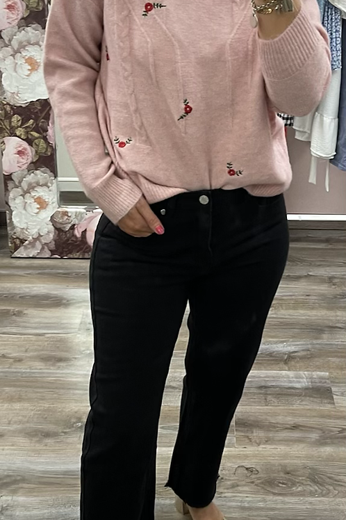 Pull Rose poudré