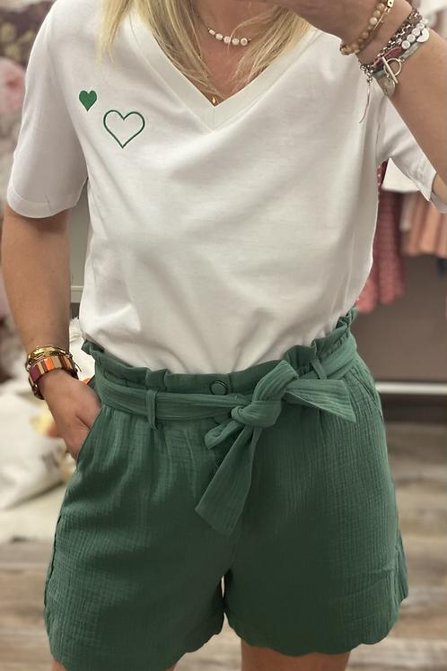 T-shirt V 𝚟𝚎𝚛𝚝 & 𝚛𝚘𝚞𝚐𝚎