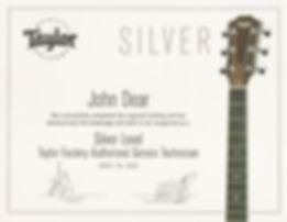 Taylor Silver Cert.jpg