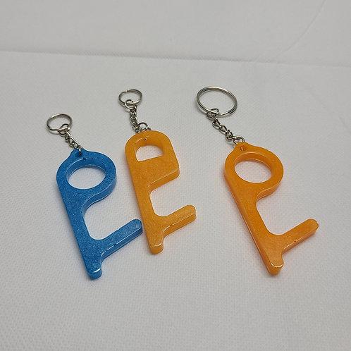 Button Pressers - Handcraft Epoxy Keychain