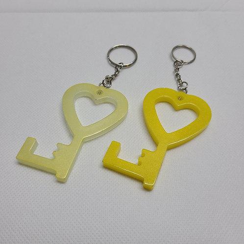 Key of Love - Handcraft Epoxy Keychain