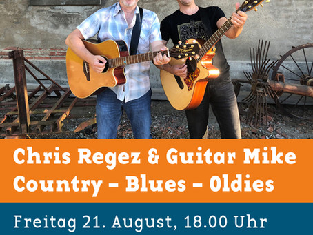 Chris Regez & Guitar Mike Live-Music