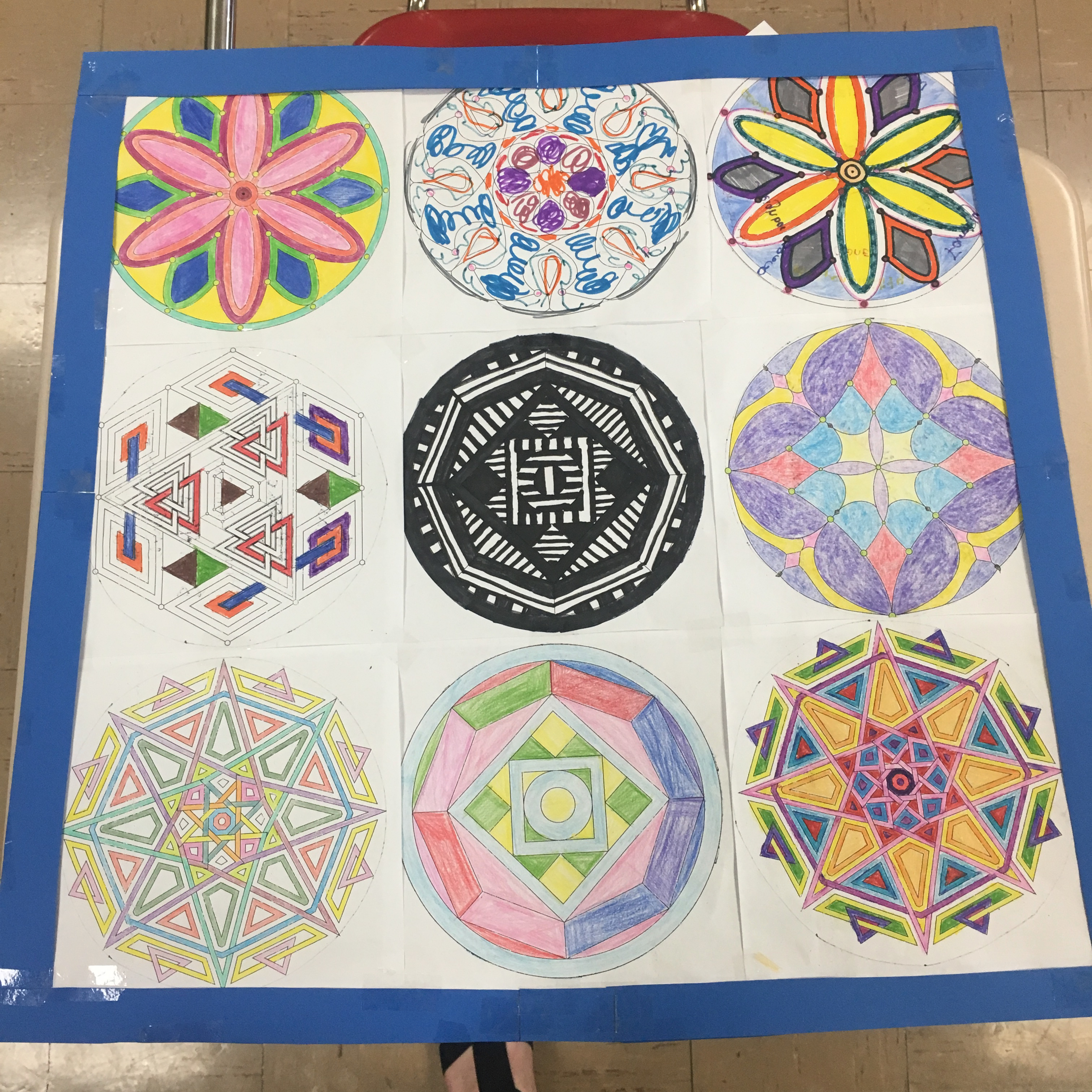 Day 151: Mandala Quilts