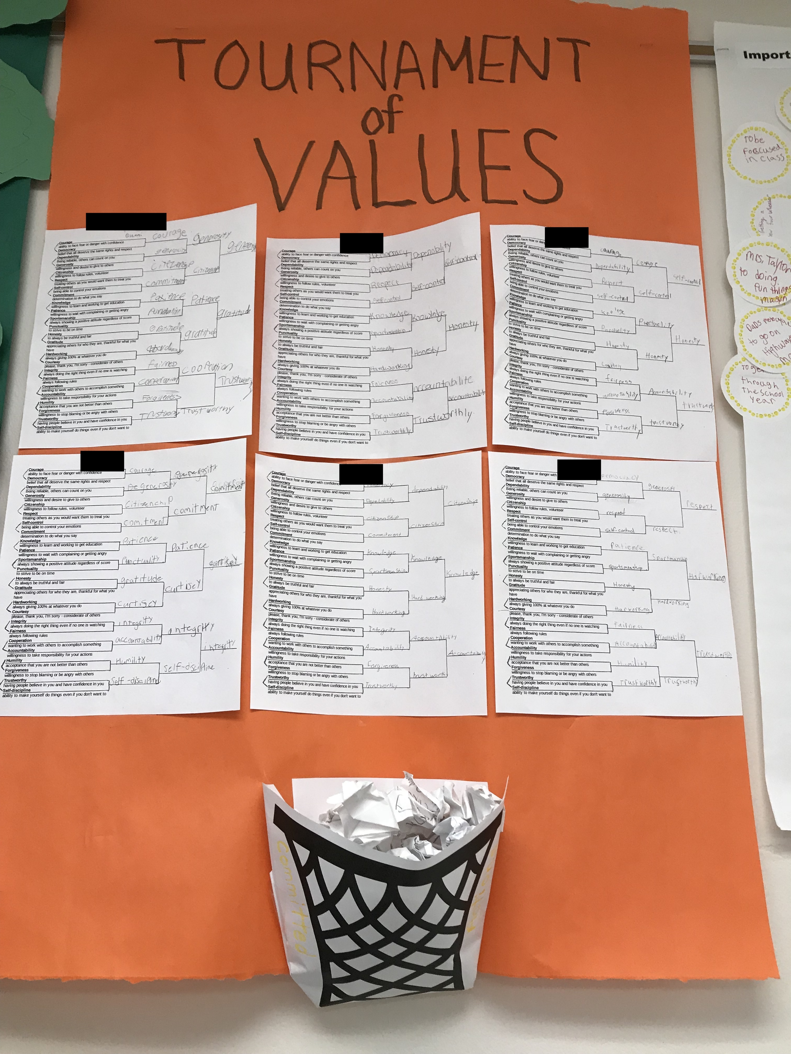 Day 81: Tournament of Values