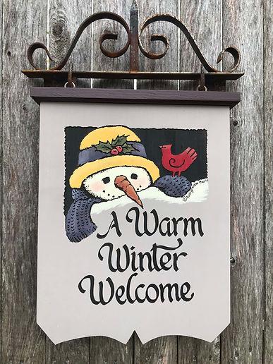 Lg S Winter Snowgirl
